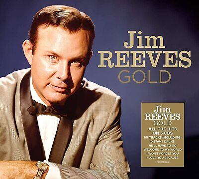 JIM REEVES GOLD 3 CD SET (60 TRACK COLLECTION) (Released April 3rd 2020)
