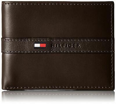 Tommy Hilfiger Men's Leather Credit Card Wallet Billfold Bro