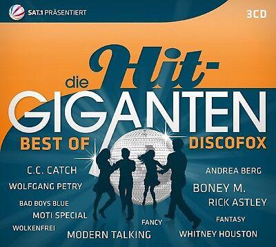 DIE HIT GIGANTEN BEST OF DISCOFOX 3 CD NEW! DIE PRINZEN/REX GILDO/UDO