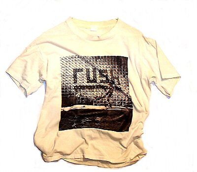 Vintage Rush Roll The Bones Tour Concert Tee XL T-Shirt VG 2112 Signals MkOfr