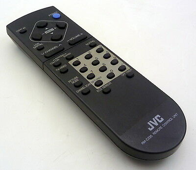 JVC RM-C235 ORIGINAL GENUINE TV REMOTE CONTROL UNIT RB405AV21PX AVF29MX3