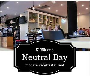 MODERN Cafe / Restaurant Neutral Bay North Sydney Area Preview