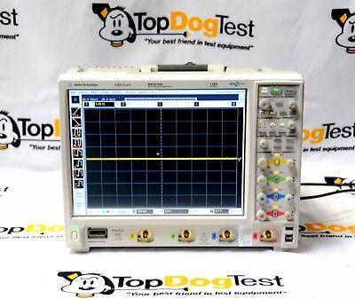 Hp Agilent Keysight Mso9104a Mixed Signal Oscilloscope 1ghz 4 Analog Plus16dig