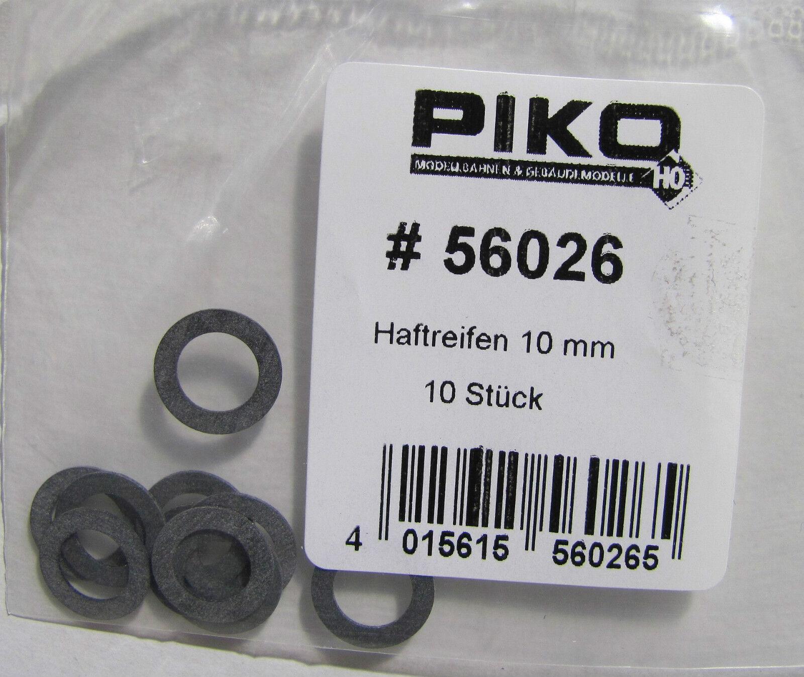 Piko 56026 Haftreifen 10 Stück Unter Anderem Für Die Baureihen 01,03,41 Neuware