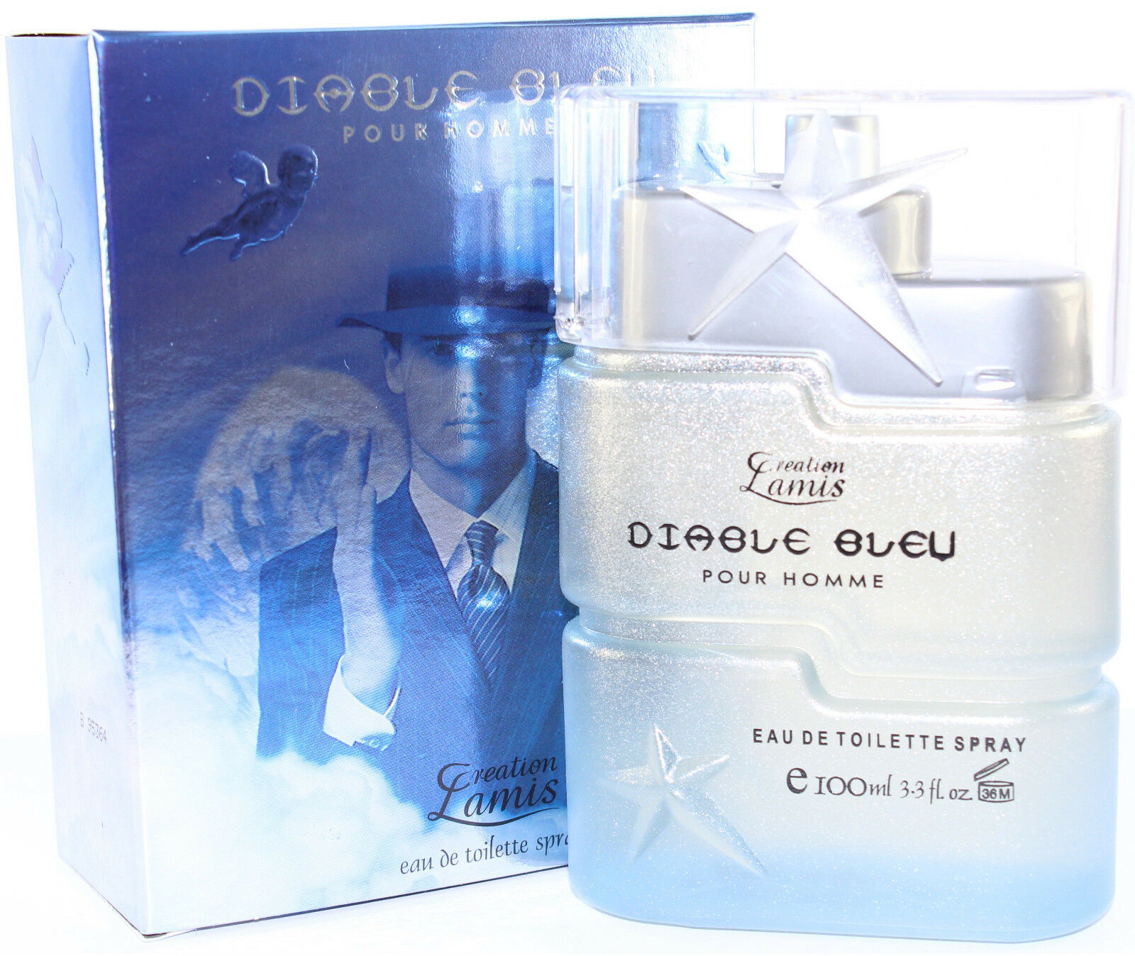 Diable Bleu By Creation Lamis 3.4/3.3 Oz Edt Spray For Men In Box