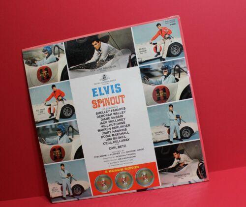 Original NOS 1966 Carroll Shelby 427 AC Cobra Elvis Presley Spinout Album SAAC