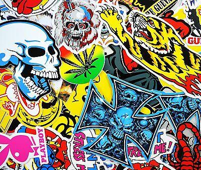 Superb Job Lot 20 Vinyl Stickers/Decals Skulls Fantasy Myth Magic Gothic Cool