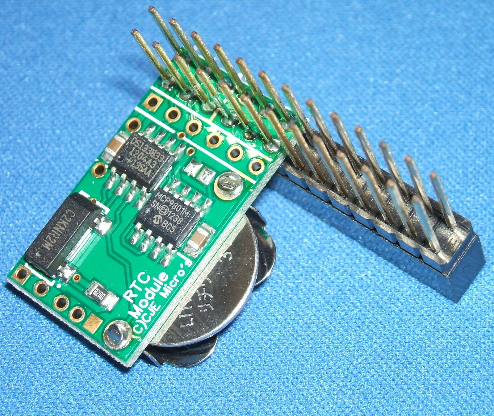 Details about Real Time Clock (RTC) for Raspberry Pi with 26 pin passthru  pins fitted