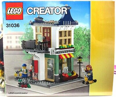 LEGO 31036 Creator 3-In-1 Toy & Grocery Shop 100% Complete With Instructions