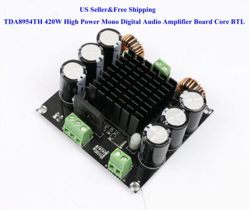 US TDA8954TH 420W High Power Mono Digital Audio Amplifier Board Core BTL Class
