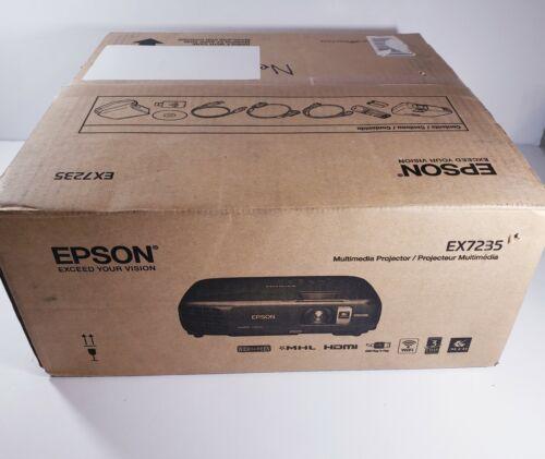 Epson EX7235 HD 3LCD Multimedia Projector - Widescreen - HDMI - NEW OPEN BOX