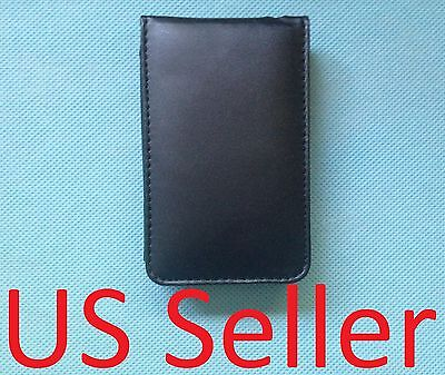 - Black leather Case for apple ipod classic 160GB NEW w/ screen protector 120GB
