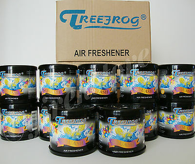 12 CAN TREE FROG SQUASH SCENT (BLACK) AIR FRESHENER (TR21S) 1 BOX - 12 -