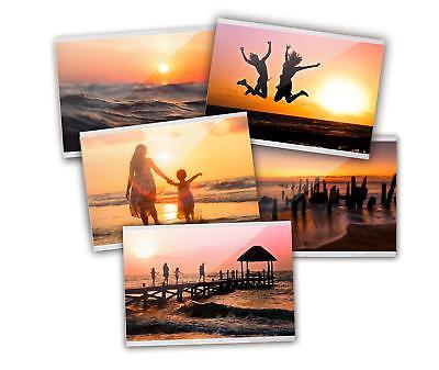 Fototasche Kühlschrank Fotorahmen Fotohülle 10x15cm 5er Set (Magnetische Foto-taschen)