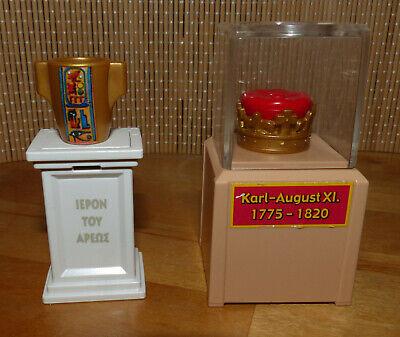 Playmobil Zubehör für Museum Vitrine Sockel Krone griechisch - Griechische Zubehör