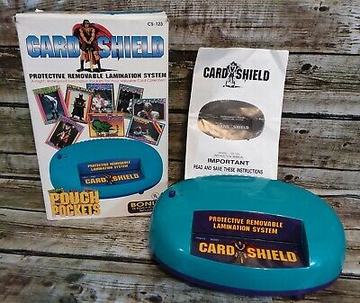 Vintage Royal Sovereign Lamination System Sports Card Shield Removable Orig Box