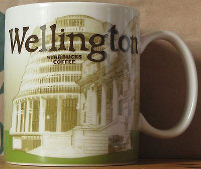 Starbucks Global Icon City Mug WELLINGTON, 16 oz neu, selten RARE