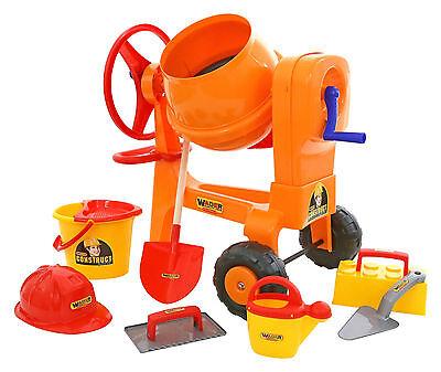 WADER 50649 Mischmaschine Betonmischer Mischer Betonmischmaschine Baustellenset