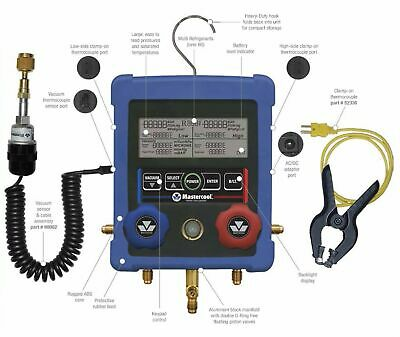 Mastercool 99772-a Digital Manifold Gauge Set