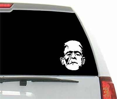 Frankenstein Decal Sticker BUY 2 GET 1 FREE Choose Size & Color Horror Halloween