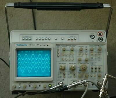 Tektronix 2465a Dm Cts 350 Mhz Oscilloscope Refurbished Calibrated