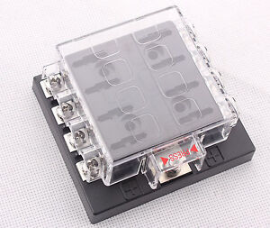 8-Way-Terminals-Circuit-Car-Auto-Blade-Fuse-Box-Block-Holder-DC32V-ATC-ATO