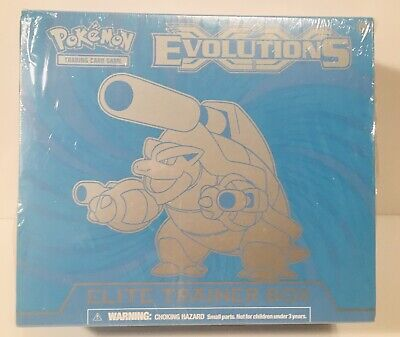 Pokemon XY Evolutions Elite Trainer Box Blastoise New/Sealed