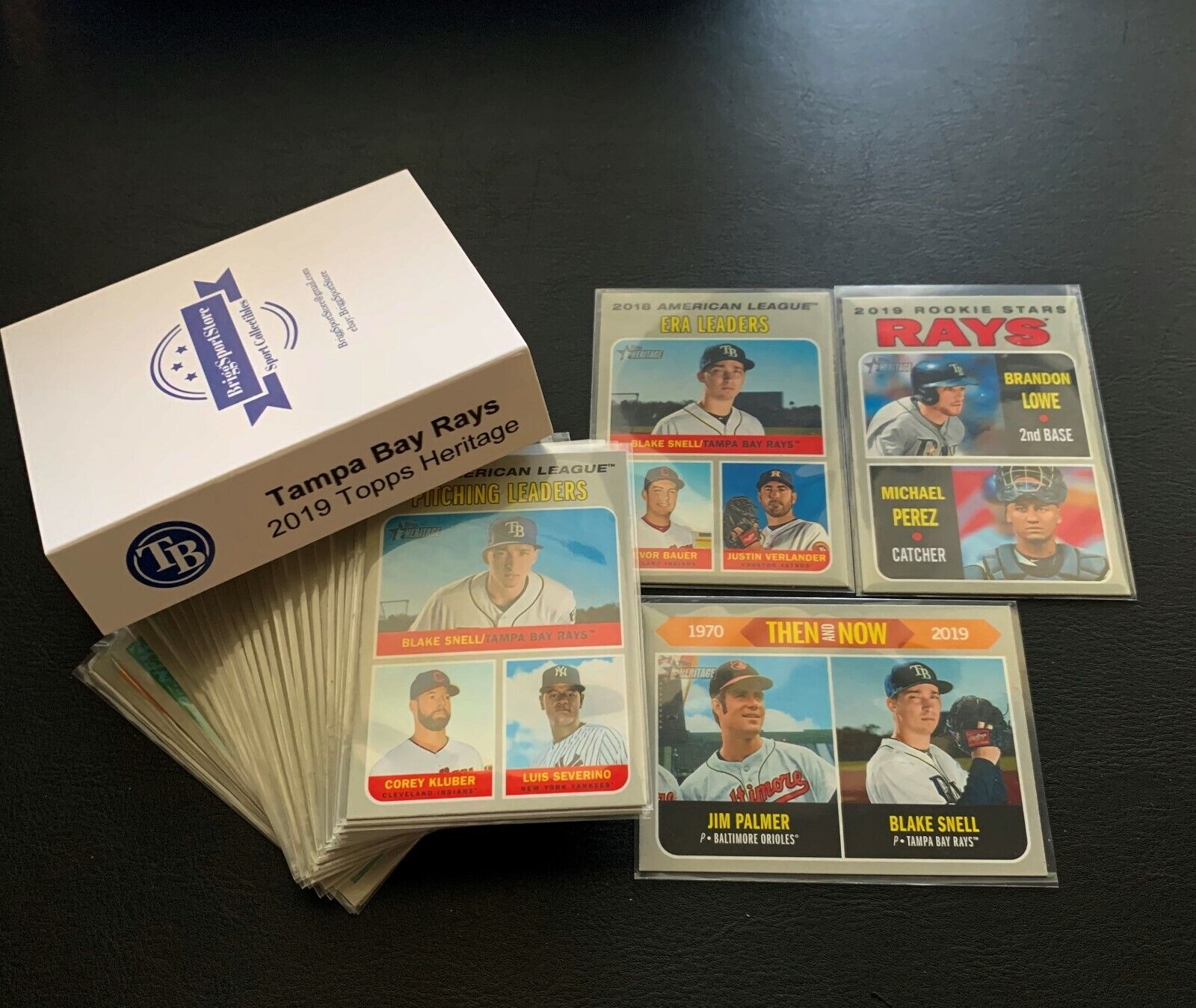 2019 Topps Heritage Tampa Bay Rays Team Set  +Inserts  GIFT