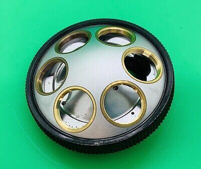 Olympus Microscope Nosepiece 6x Turret Fits - Bht Bh Bhtu Bhs Series