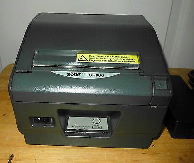 Star Micronics Tsp800 Pos Thermal Label Printer - Usb Port - Autocut