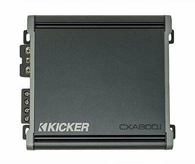 Kicker CXA8001、CXシリーズモノクラスD車サブウーファーアンプ、800W(46CXA8001)