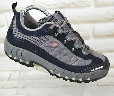 32a1507613084a GARMONT ADD Womens Grey Black Walking Trail Shoes Vibram Boots Size 5 UK 38  EU