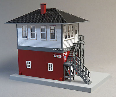 MTH RAIL KING UNION PACIFIC PANA, IL SWITCH TOWER o gauge train control 30-90430