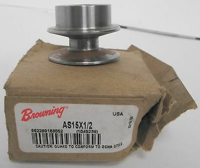 Browning As15x12 V-belt Pulley