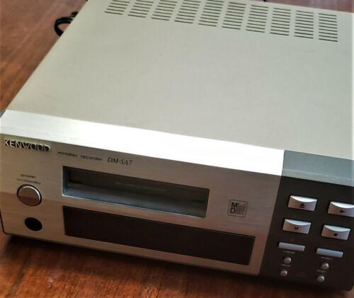 KENWOOD  DM-SA7 Mini Disc Deck  Working Used