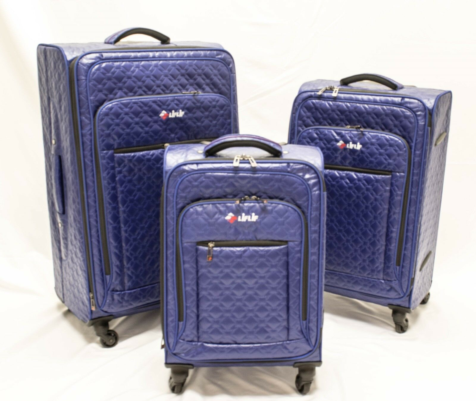 LiFLiF 3piece spinner luggage set -
