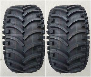 2 - (PAIR) 22x11.00-8 D930 ATV Stryker Tires DS7341 22x11-8 22/11-8 Free Ship