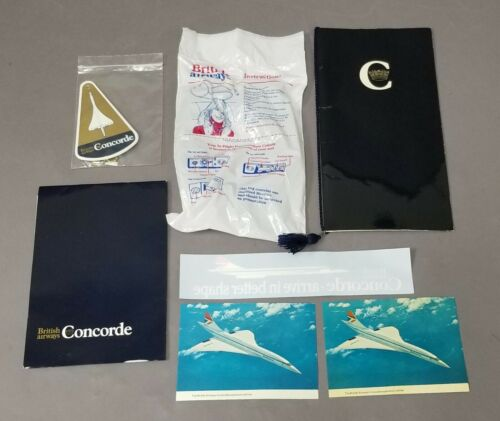 Vintage British Airways Concorde Flight Package Washington to London