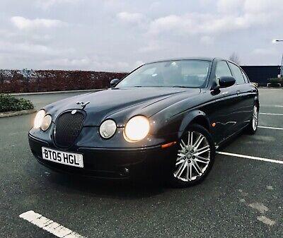 2005 Jaguar s type diesel 2.7 black full service history diesel automatic
