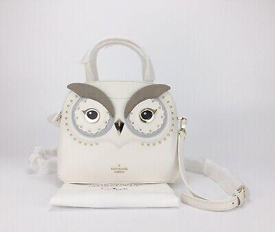 NWOT Kate Spade Bright Owl Small/medium Lottie Satchel Bag Crossbody Purse