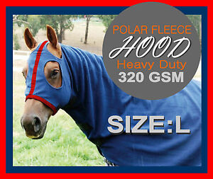 COMFORT I L I HEAVY DUTY I POLAR FLEECE I  HORSE HOOD I TOP QUALITY