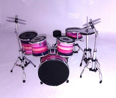 Queen tribute Ludwig - Batteria in Miniatura - Miniature Drum Set -...