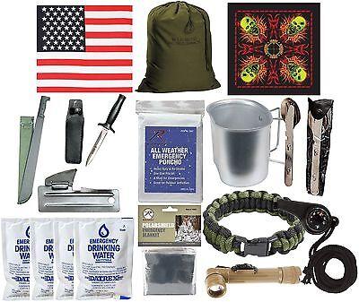 Zombie Apocalypse Disaster Kit - Emergency Preparedness Survival Walker Defense