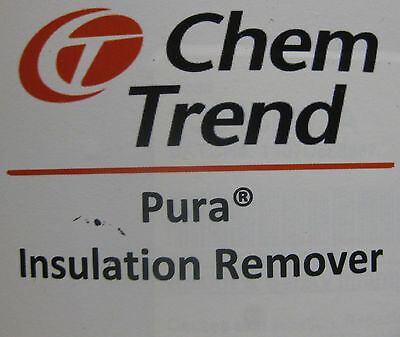 Chem Trend Insulation Remover 1 Gallon Can Spray Foam Rig Mask Gun Machine