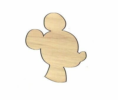 Mickey Mouse Cut Outs (Mickey Mouse Unfinished Wood Shape Cut Out M11716 Lindahl)