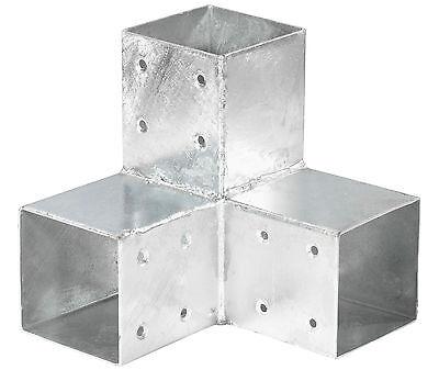 Holzverbinder Eckmodell für Balken 90 x90 Pfostenecke Pfostenverbinder Balken