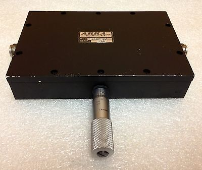 Arra 4487-40 0 To 40 Db 0.2 To 2 Ghz Variable Micrometer Attenuator