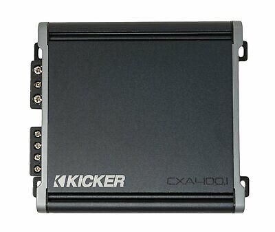 Kicker CXA4001, CX Serisi Mono Sınıf D Araba Subwoofer Amplifikatörü, 400W (46CXA4001)