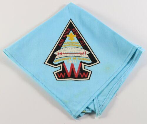 Vtg 1971 NOAC Order Arrow Conference OA Boy Scouts of America BSA Neckerchief