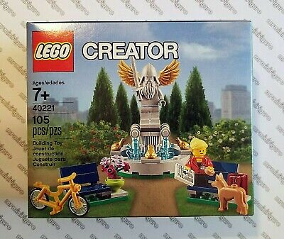 LEGO Creator / Promo #40221 - PARK FOUNTAIN - Brand New, Nice Boxes, Very Rare!